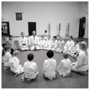 Karatekids. Mindfulness - medveten närvaro